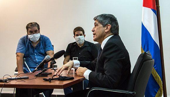 Carlos Fernández de Cossío, director general para EE.UU. del Ministerio de Relaciones Exteriores. Foto: Abel Padrón Padilla/Cubadebate.