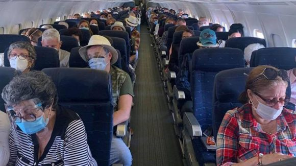 Cubans stranded in U.S. return