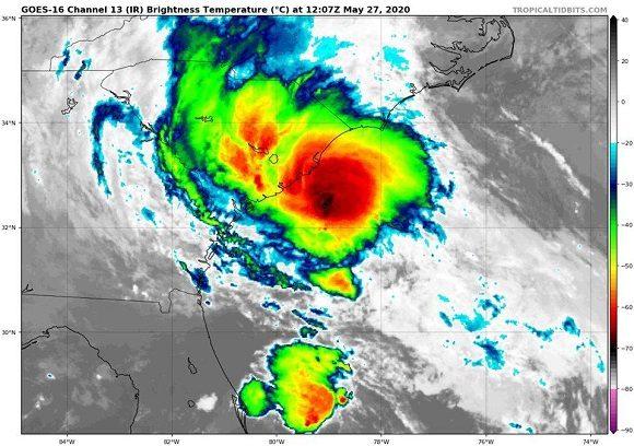 Emite Instituto de Meteorología de Cuba aviso de ciclón tropical