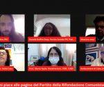 La transmisión en vivo por Internet contó con la participación de representantes de Cuba e Italia
