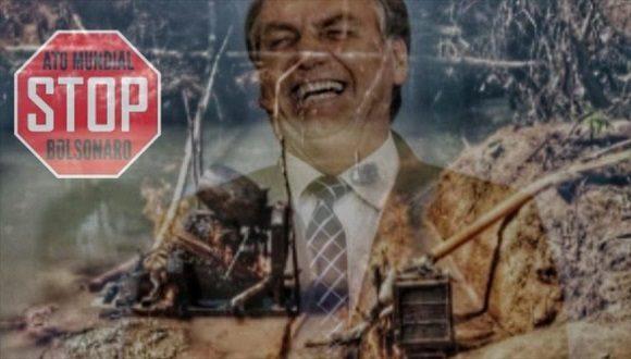 El Día Mundial de Stop Bolsonaro cuenta con adhesión mundial
