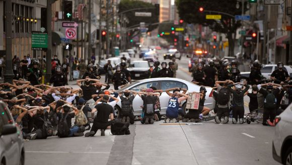 detenidos por las protestas en Los Angeles