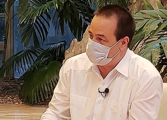 Doctor José Angel Portal Miranda, ministro de Salud Pública. Foto: @PresidenciaCuba/Telegram.