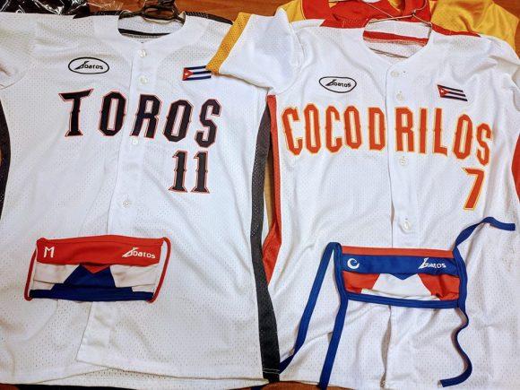 uniformes de Home Club de Matanzas y Camaguey