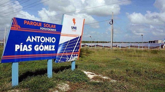 Impulsa Camagüey generación de energía mediante fuentes fotovoltaicas