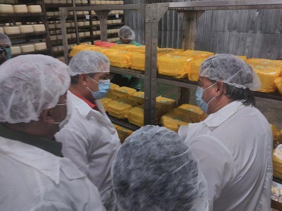 Guilarte de Nascimento mostró su satisfacción por estar entre los esforzados productores lácteos