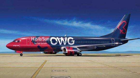 Nueva aerolínea canadiense selecciona a Cuba como su destino inaugural