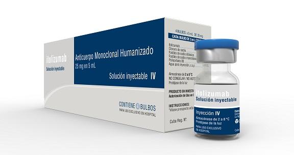 Aprueba autoridad reguladora cubana uso de emergencia del anticuerpo monoclonal Itolizumab para tratar COVID-19