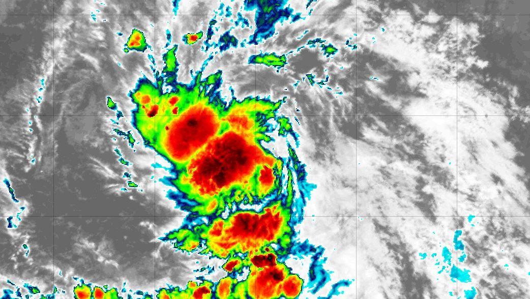 Nueva depresión tropical se forma en el Atlántico central (+Cono de trayectoria)