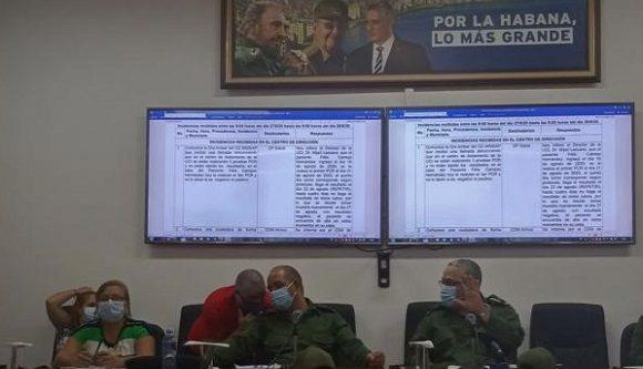 En la reunión se analizaron también aspectos relacionados con la recuperación de los daños ocasionados por la tormenta tropical Laura