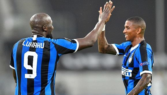 Romelu Lukaku fue protagonista en el triunfo del Inter de Milán, en cuartos de final de la Liga Europa