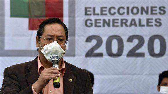 Encuesta revela que Luis Arce lidera intención de votos en Bolivia