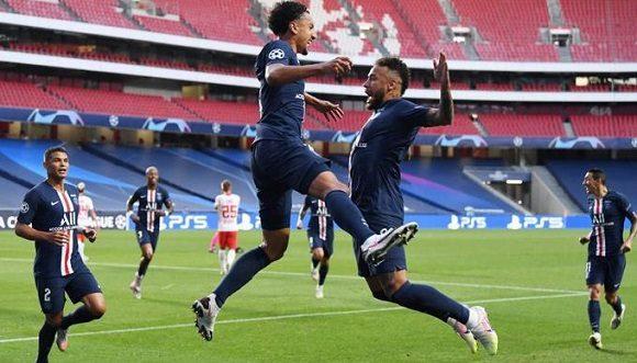 El PSG se apoyó en el juego de Neymar para avanzar a su primera final de la Liga de Campeones. Foto: Listín Diario.