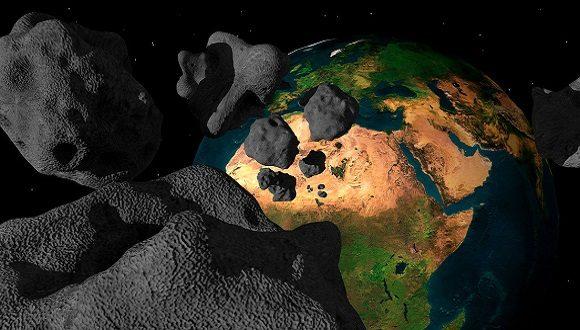 Varios objetos celestes pasarán esta semana cerca de la Tierra