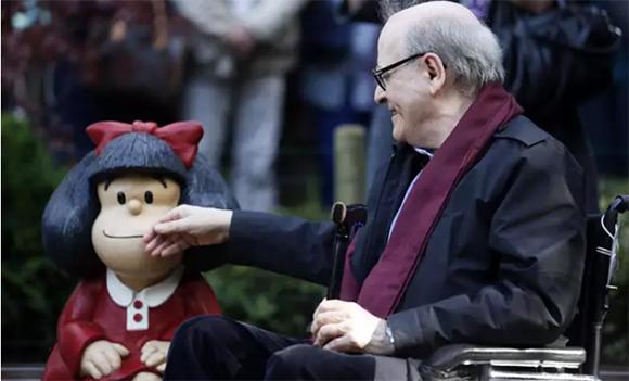 Argentine cartoonist Quino, creator of Mafalda, died