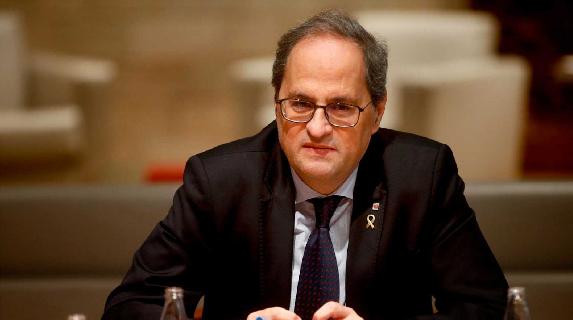 Incidentes en Barcelona y concentraciones en toda Cataluña ante inhabilitación del presidente de la Generalitat