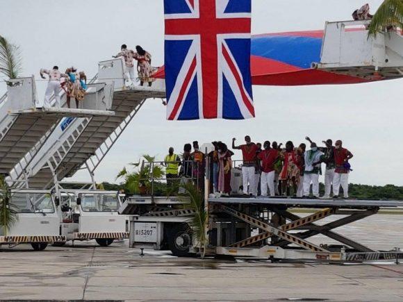 Varadero vuelve a recibir turistas extranjeros por vía aérea