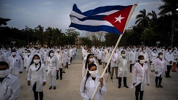 Regresa a Cuba brigada médica que trabajó en Dominica