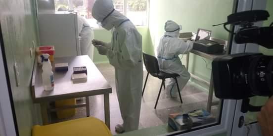 Listo en Artemisa nuevo laboratorio de biología molecular para diagnóstico de COVID-19