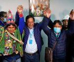Las elecciones demostraron que el MAS es la única fuerza social existente en toda Bolivia. Foto: AFP.