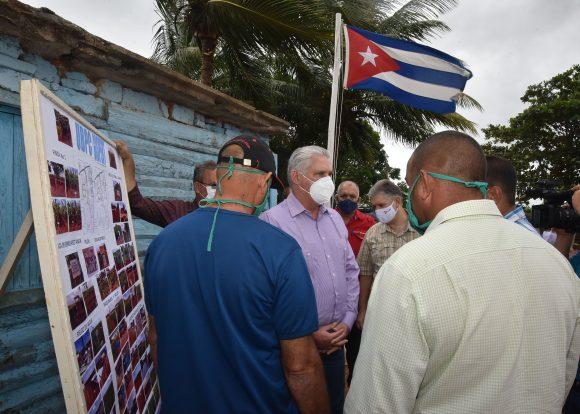 Díaz-Canel concluye visita gubernamental a Matanzas