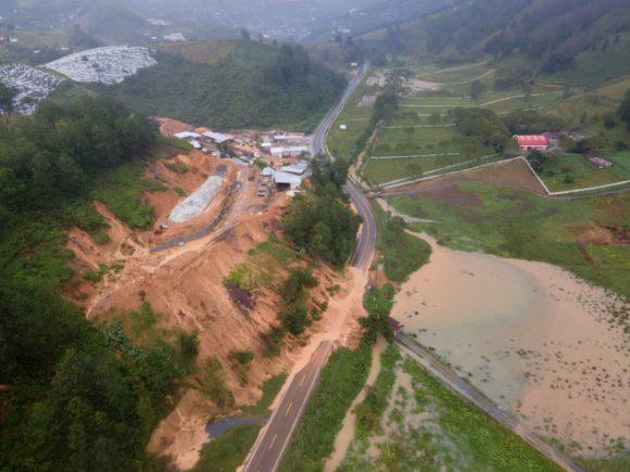 deslizamiento de tierra eta