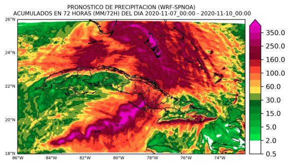 pronostico de lluvias