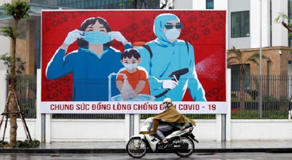 """Vietnam se adentra en una fase de """"nueva normalidad"""" que pasa por el relajamiento progresivo de las medidas de confinamiento. Foto: Asia News."""