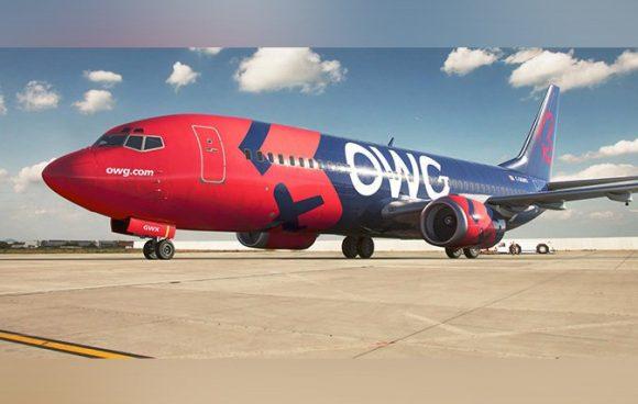 Arriba hoy a Cuba el vuelo inaugural de aerolínea OWG procedente de Canadá
