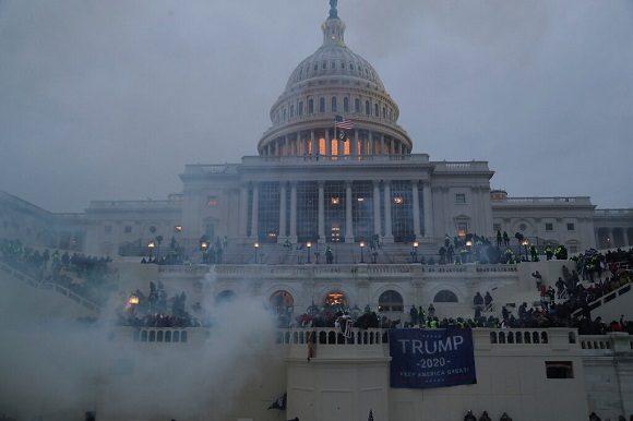 Caos en el Capitolio estadounidense