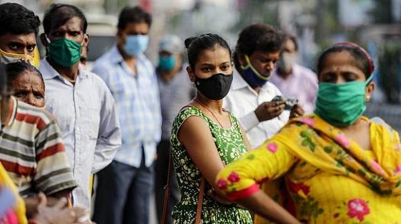 India es el segundo más afectado por la pandemia a nivel mundial. Foto: Euronews.