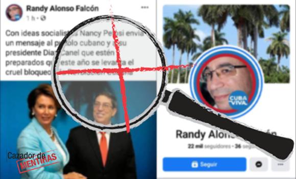 Atención: Perfiles y páginas falsas en Facebook atribuidas a Randy Alonso