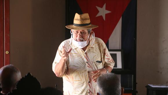 Alejandro Hartman Matos, director of City Curator Office of Baracoa.