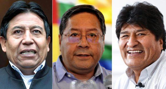 """""""Los tres"""" y la política boliviana"""