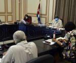 En la reunión también se presentaron los resultados de la comprobación realizada a la producción y comercialización de los productos agropecuarios en La Habana. Foto: Tony Hernández.