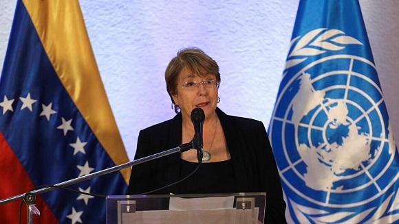 Bachelet critica falta de espacio cívico y democrático en Venezuela