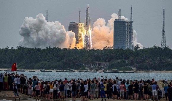 China avanza en lanzamiento de su primera estación espacial permanente