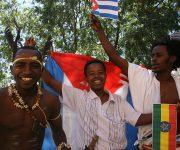 Jóvenes en Etiopía. Foto: Ismael Francisco/ Cubadebate.