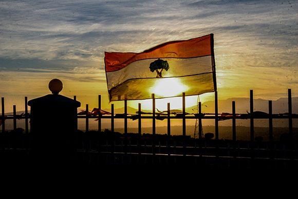 Atardecer en Etiopía. Foto: Ismael Francisco/ Cubadebate.