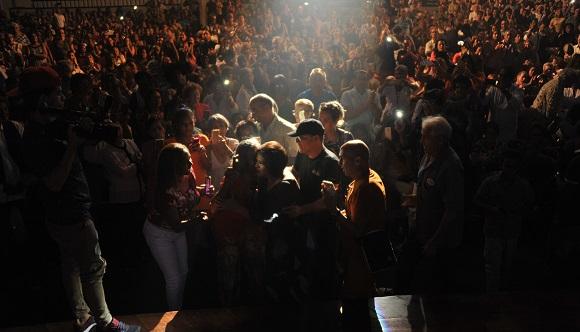 Miles de personas disfrutaron los dos conciertos de Ivette Cepeda, en 2018.