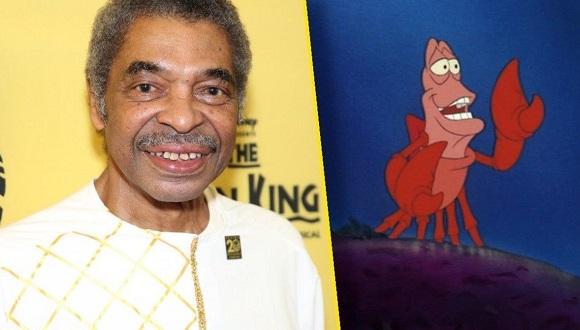 Wright se hizo famoso por hacer la voz del cangrejo Sebastián en la película infantil animada 'La Sirenita'. Foto: IGN Latam.