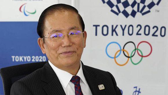 Toshiro Muto, director ejecutivo de Tokio 2020. Foto: Tokio 2020