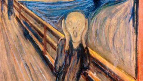 """""""El Grito"""", pintura del noruego Edvard Munch."""