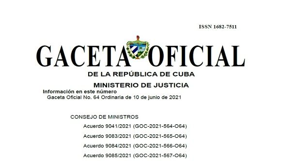 Gaceta Oficial de la República de Cuba publica documentos legislativos con medidas para el fortalecimiento de la contabilidad (+PDF)