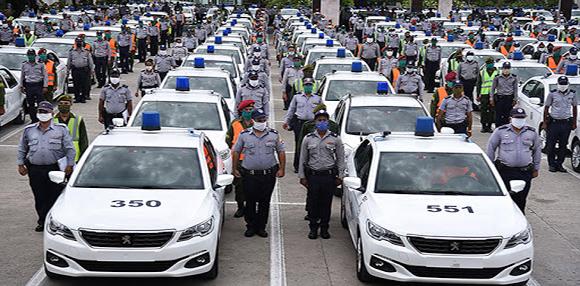 Policía Nacional Revolucionaria. Foto: Ismael Francisco/ Cubadebate.