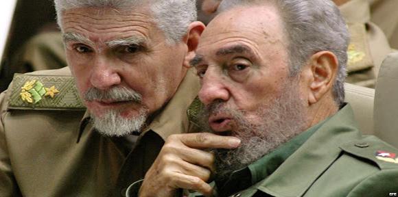 Comandantes de la Revolución, Ramiro Valdés Menéndez y Fidel Castro Ruz. Foto: Ismael Francisco/ Cubadebate.