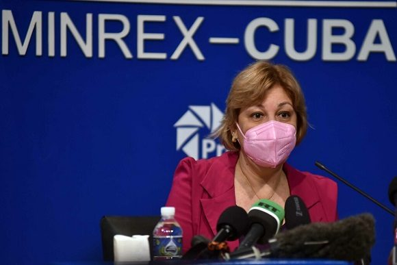 Lilian María Hernández Doejo, presidenta de la Junta Directiva de la Organización Nacional de Bufetes Colectivos. Foto: ACN
