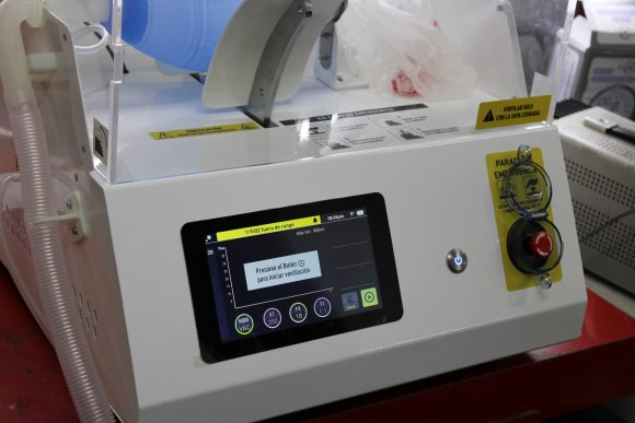 Ventilador Pulmonar de CNEURO activo