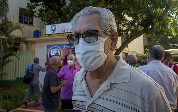 Jorge Lezcano Pérez, coordinador nacional de los CDR desde 1973 hasta 1980. Foto: Ismael Francisco/ Cubadebate.