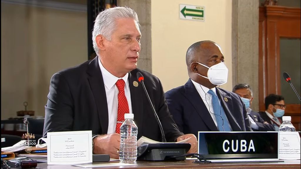 Díaz-Canel calls to advance in the strengthening of the regionat CELAC Summit